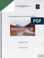 balance hidrico de la cuenca del rio huaura