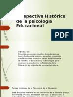 1. Perspectiva Histórica de La Psicología Educacional (1)