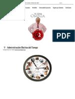 Mario Granados _ Liderazgo Estratégico Profesional - Administrar el Tiempo