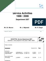 Service Activities SET 2000