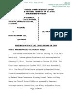Dish Network telemarketing judgment