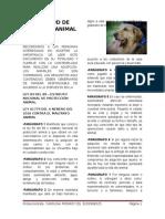 Solicitud de Adopción Animal Caro