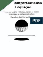 05- Sobre Comportamento e Cognição (Vol. 5)