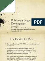 kohlbergs theory ppt prezi