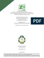 Planificación de Excel 2010 Basico