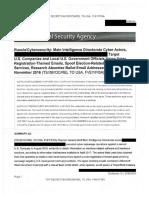 NSA Report on Russia Spearphishing