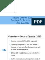 IPG Q2 2010