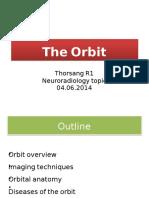 the orbit.