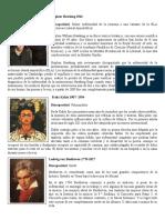 Personajes de La Historia Con Capacidades Diferentes