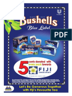 New Bushells campaign launched to battle cancer in Fiji