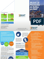 Compliance - Modelo Prev de Delitos, Tríptico, EnAP