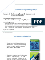 ENGG 1100 Introduction to Engineering Design