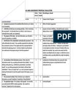 graded presentation rubric