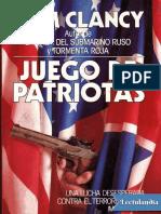 Juego de Patriotas - Tom Clancy
