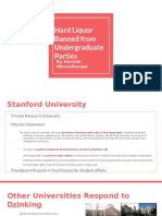 hard liquor banned from undergraduate parties  2
