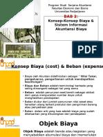 SESI 2 - Konsep Biaya