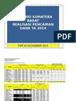 30_11_2014_pencairan Dana Dan Spm Sp2d Minggu IV November