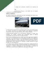 Informe Camion Cisterna y Vaciado de Tanques