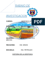 Historia de La Geofisica