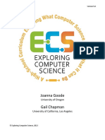 Exploring Computer Science v5.0