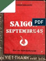 (1947) Saigon Septembre 45 - Trần Tấn Quốc