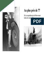Au Plus Pres de La Revolte de 77
