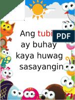 Ang Tubig Ay Buhay