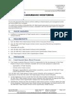 Fatal Hazard Assurance Monitoring