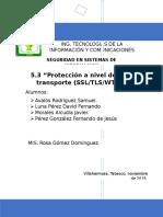 5.3 Protección a Nivel de Red y Transporte (1)