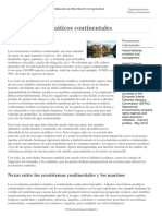 Ecosistemas Acuáticos Continentales