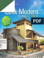 1124_Rumah Etnik Modern Di Lahan 60 100m2