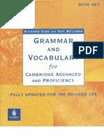 Grammar Vocabulary  CAE With Key
