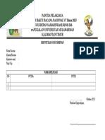 Formulir Pendaftaran KEMBARANAS VI