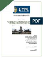ANÁLISIS DE LAS FACILIDADES TURÍSTICAS QUE OFRECE LA REGIÓN SUR DEL ECUADOR PARA SER SEDE DEL DESARROLLO DE EVENTOS INTERNACIONALES