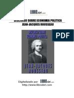 Rousseau, Jean Jacques - Discurso sobre economía política.doc