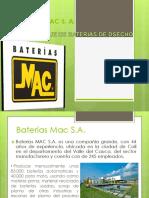 Baterias Mac