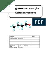acidos carboxilicos-organometalurgia