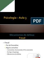 Psicologia_mecanismos de Defesa