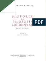 Bertrand Russell - História da filosofia ocidental - Volume I.pdf
