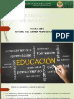 Deber Legislación Educativa