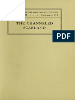 The Channeled Scabland Bretz 1932