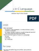 Loops in C Language