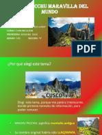 Machu Pichu Exp 2