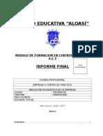 Informe Final Fct 2017