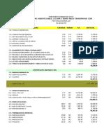 Analisis y Presupuesto Martin El Caribe