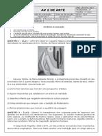 1º Ano do EM - AV2 - Aluno - Arte - 1º Trimestre.pdf