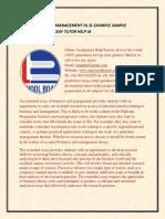 Ib Business Management Hl Sl Example Sample Extended Essay Tutor Help Ia