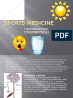 sports medicine-environmental considersations for students
