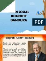 Teori Sosial Kognitif Bandura