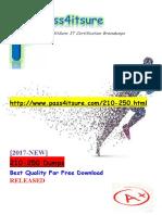 New Pass4itsure Cisco 210-250 Dumps PDF - Understanding Cisco Cybersecurity Fundamentals